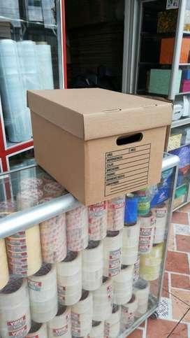 Cajas de Cartón, Y Usadas