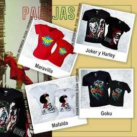 Camisetas de comics