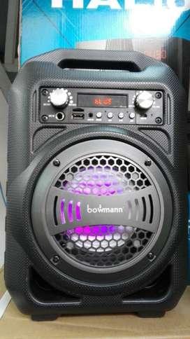 Parlante Karaoke Liviano Usb Bluetooth