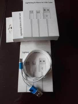 cables originales iphone 6,7,8,10,X