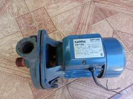 Vendo bomba de agua centrifuga, marca gama