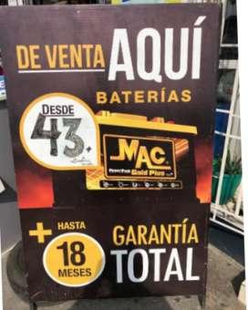 Baterías Bosch Ecuador Dacar Exiwill Moura Mac Motorex