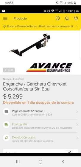 Vendo Ganchera Chevrolet