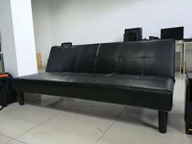 Remato Mueble futon negro