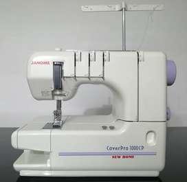 Recubridora familiar JANOME Modelo Cover Pro 1000 CP