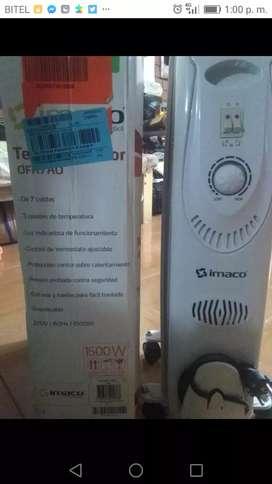 calefactor con poco uso