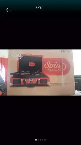 Se vende toca disco con USB nuevo en  caja
