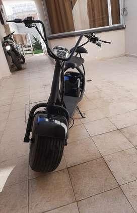 Scooter moto Electrica 1000 watts 2 pasajeros