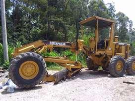 caterpillar motoniveladora 120g