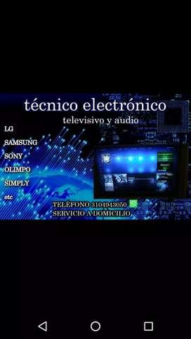 Servicio técnico de televisión y audio a domicilio