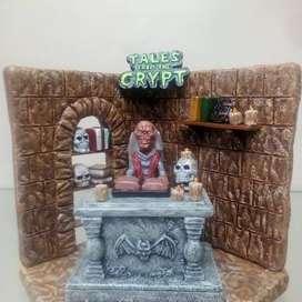 Diorama de serie cuentos de la cripta