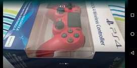 Control rojo de PS4 pro