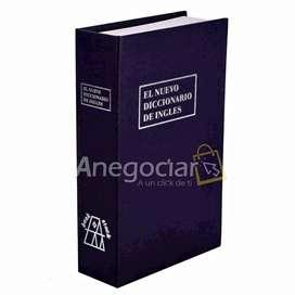 Caja Fuerte de Seguridad Tipo Libro 100% Seguro Disponible para entrega INMEDIATA