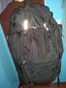 Mochila de camping/ Bolso mochilero de 50lts