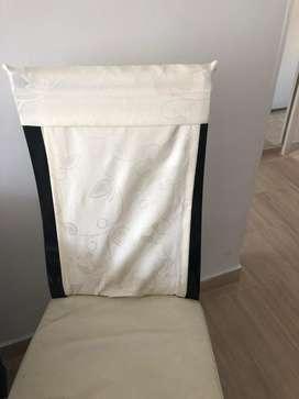 Forros para proteger sillas del comedor