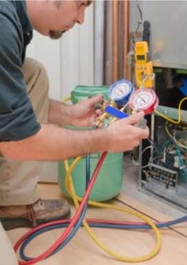 Cargas de gas refrigeración