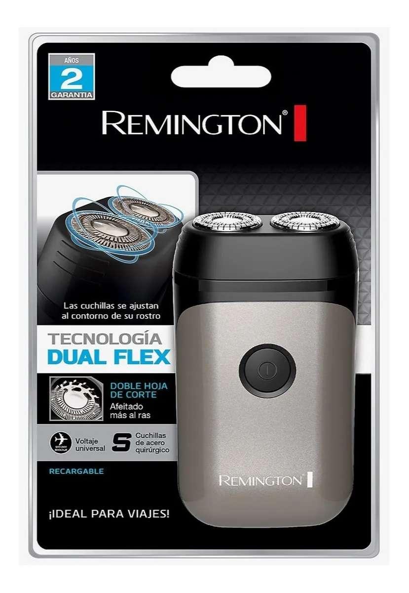 Afeitadora Rotativa Remington Travel Dos Cabezales