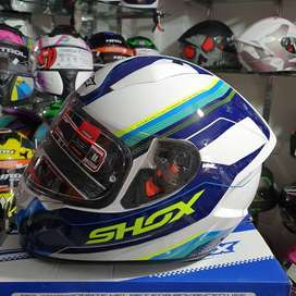 Casco Certificado Shox Stinger Integral