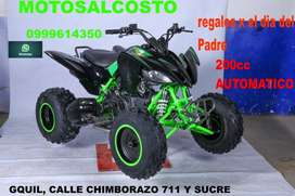 CUADRON RANGER 200cc AUTOMATICO CON RETRO