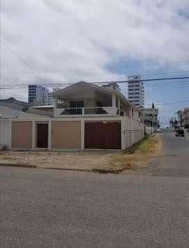 3 CUADRAS AL MAR SECTOR HOTEL BARCELO MIRAMAR (SAN LORENZO) $140 POR NOCHE CAPACIDAD 12 PERSONAS