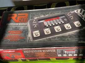 Pedal de efectos para guitarra DIGITECH RP500