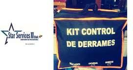 Kit De Derrames / Ambiental Maletin 5 Gls