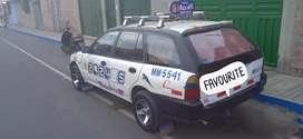 Listo para trabajar cuenta con credencial de taxi conversable