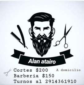 Peluqueria y barberia a domicilio