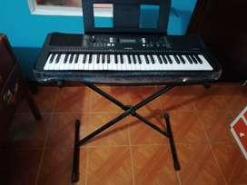 Yamaha Psr-e363 Piano + Base, Estuche