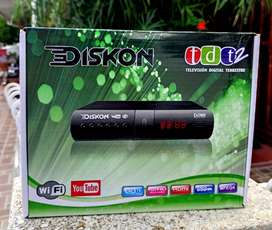Decodificador Tdt Con Youtube Wifi Diskon Television Digital
