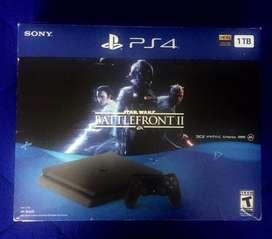 Playstation 4 Slim 1TB + 2 mandos + 6 juegos... incluyendo el PES2020