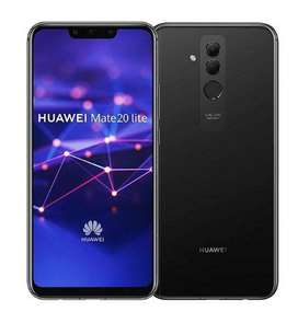 Celular Huawei Mate 20 Lite 64GB 4GB RAM - negro