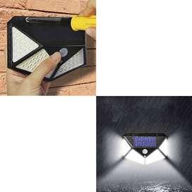 Lampara Interactiva de Pared Panel Solar Luz Blanca Sensor CL-114