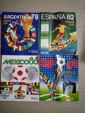 Revistas de colección de los mundiales
