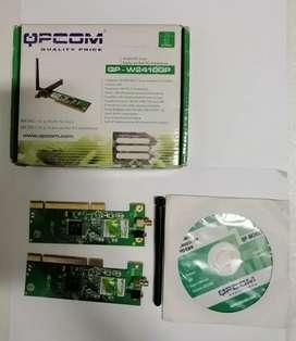 Tarjeta PCI QPCOM QP-W2410GP