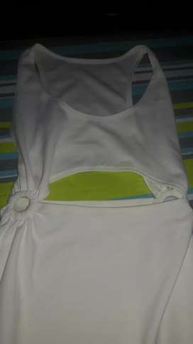 Vestido Blanco talle 2