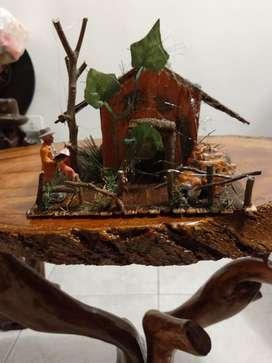 Vendo Diorama Maqueta Casa Abandonada