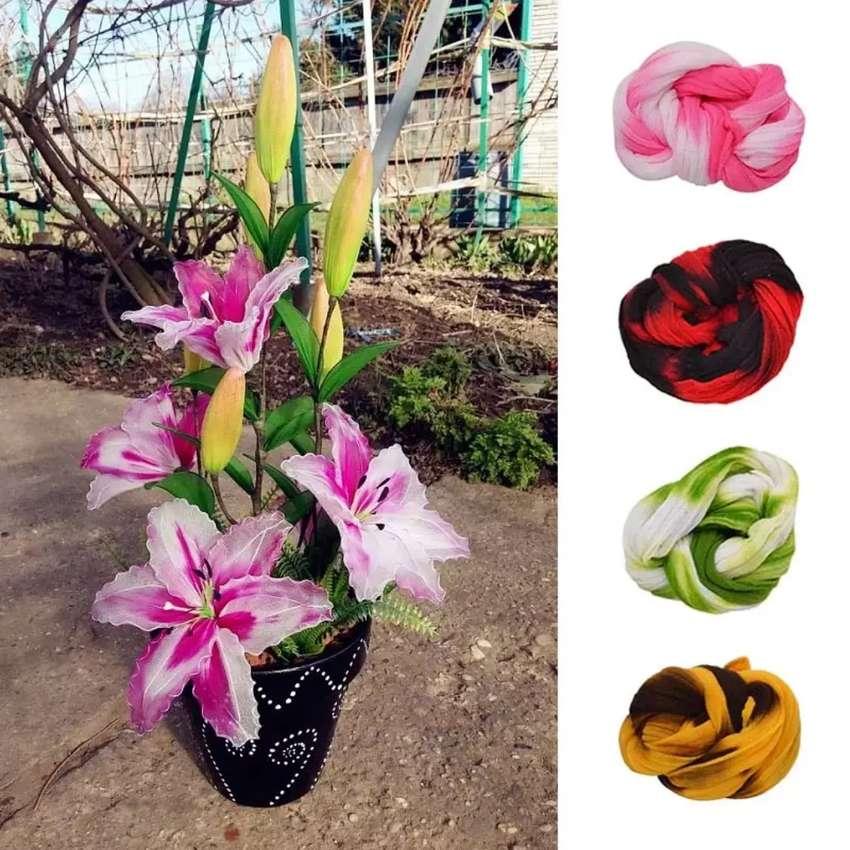 Manualidades en Medias de Nylon para Flores