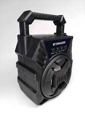 Parlante Bluetooth con Radio, Usb, Micro Sd, Auxiliar, Pequeño y potente.
