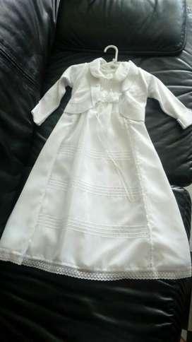 Vestido Niña para Bautizo.talla 6-8meses