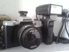 Camara antigua canon pb 268 con flash
