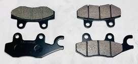 Kit pastillas delanteras y traseras Sol Parts  para KLR-650