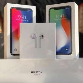 iPhone X 64Gb Apple Store, LIBRES de deudas, contratos u operadores.