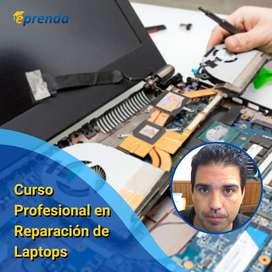 Curso MasterClass Reparación de Laptops Computadoras Portátiles