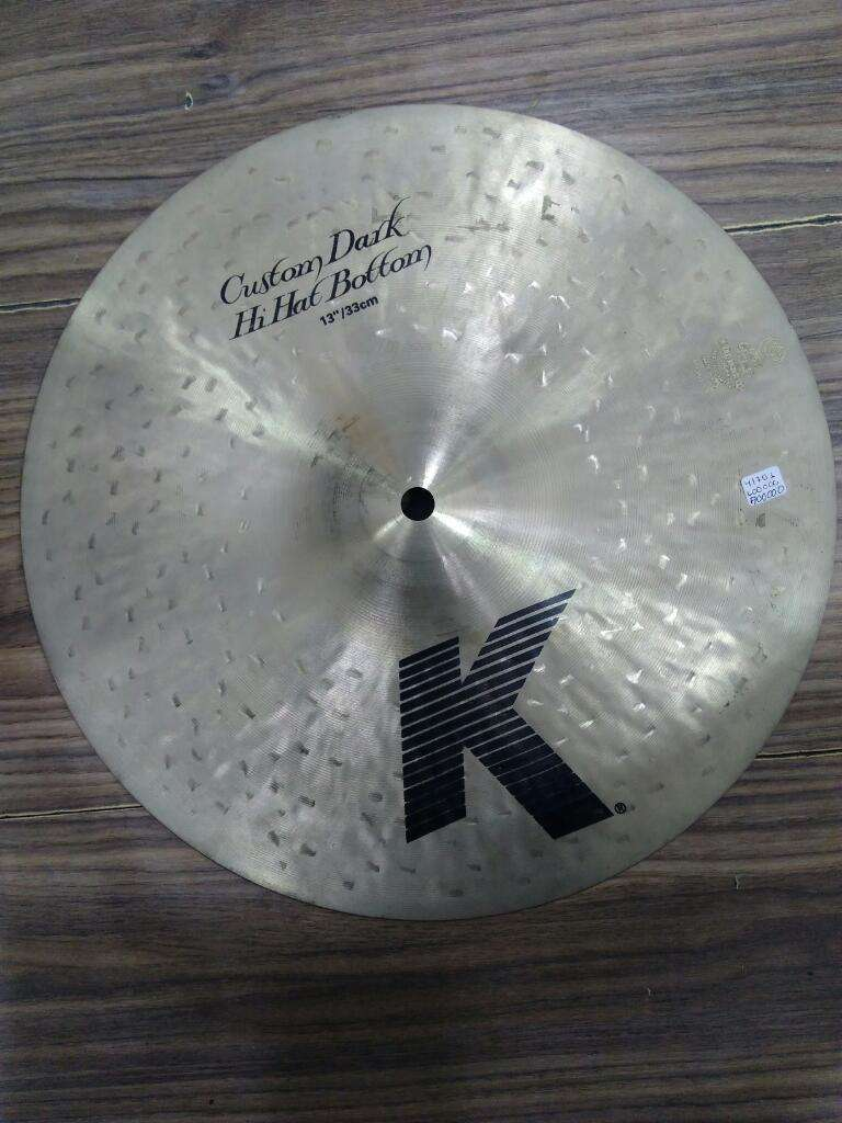 Zildjian K Custom Dark 13 Pulgadas 0