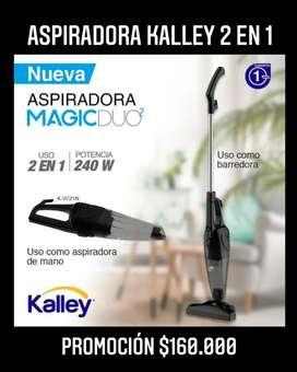 Aspiradora kalley 2 en 1