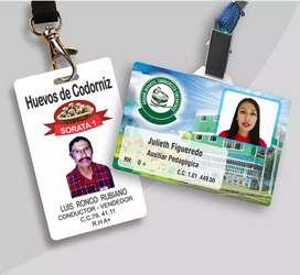 Carnets, credenciales, identificadores