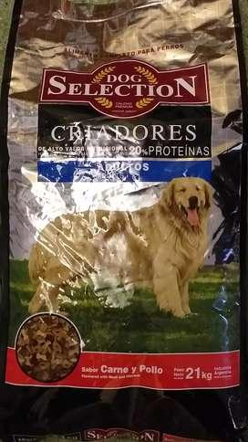 Alimento Dog Selection Adultos X 21kg.