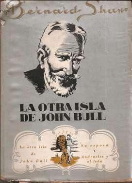 Libro La Otra Isla De John Bull Bernard Shaw 1944