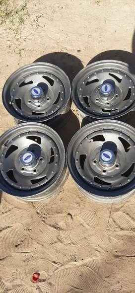 Llantas rodando 14 de 5 agujeros para ford Chevrolet dodge